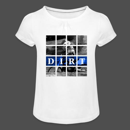 Dirt BL 19 - Koszulka dziewczęca z marszczeniami
