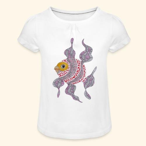 Clown fish - Maglietta da ragazza con arricciatura