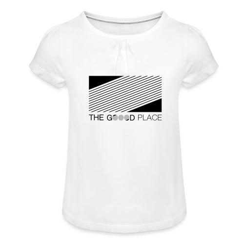 THE GOOOD PLACE LOGO - Meisjes-T-shirt met plooien