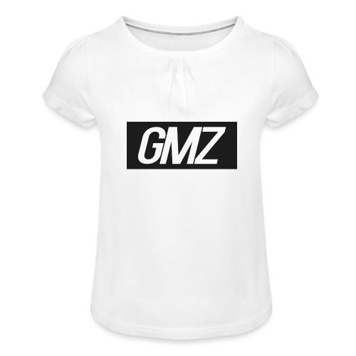 Untitled 3 - Girl's T-Shirt with Ruffles