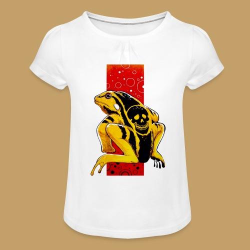 Death Frog - Koszulka dziewczęca z marszczeniami