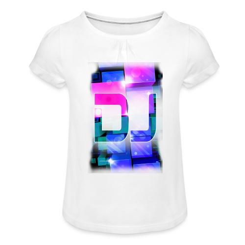DJ by Florian VIRIOT - T-shirt à fronces au col Fille