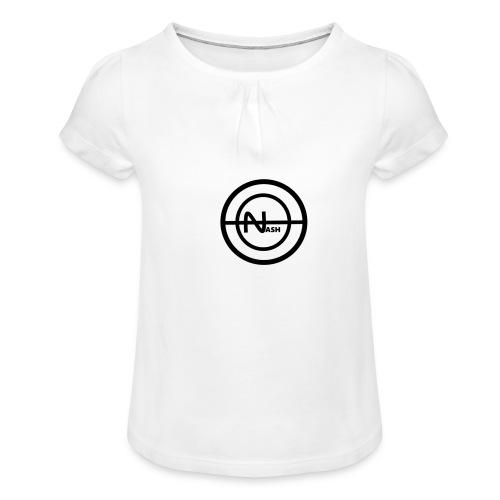 Nash png - Pige T-shirt med flæser