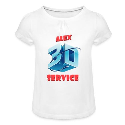 logo emporesa de impresion 3d en albacete - Camiseta para niña con drapeado