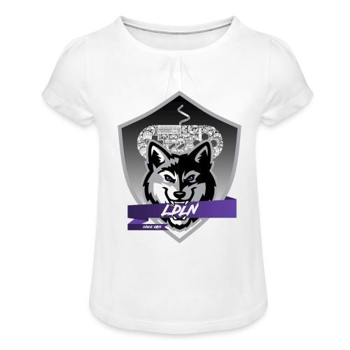 Le logo de la Légion de la Nuit - T-shirt à fronces au col Fille