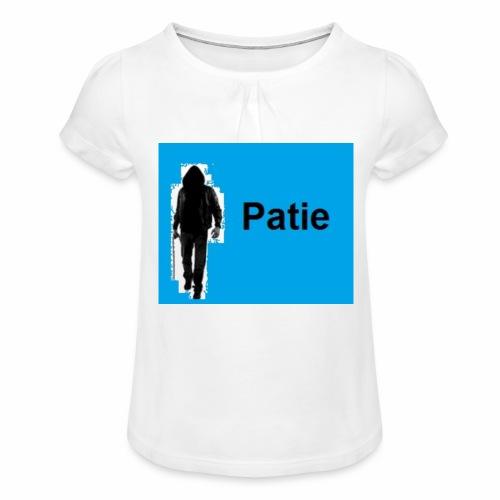 Patie - Mädchen-T-Shirt mit Raffungen