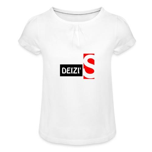 deizis Large Slim - Tyttöjen t-paita, jossa rypytyksiä
