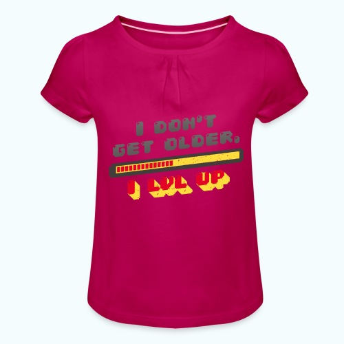Gamer Spruch - Girl's T-Shirt with Ruffles