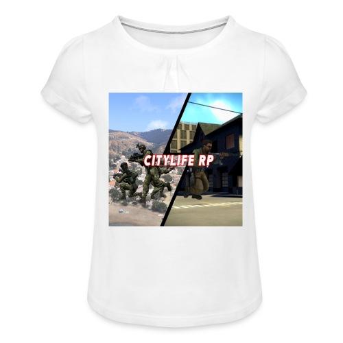 25520186 1487734038006238 33100251 n - T-shirt à fronces au col Fille