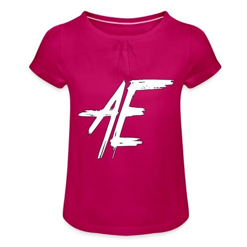 AsenovEren - Meisjes-T-shirt met plooien