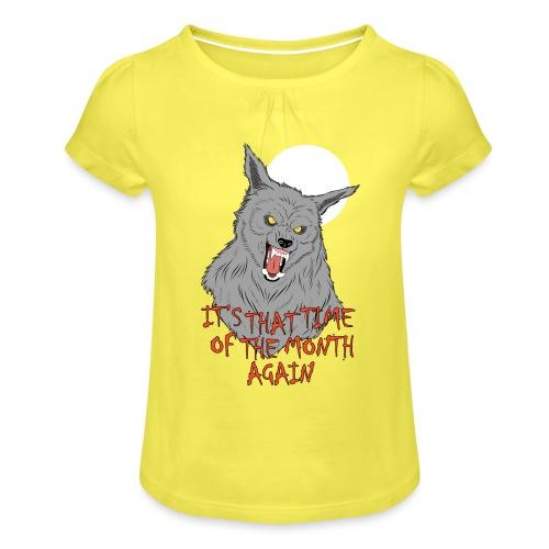 That Time of the Month - Koszulka dziewczęca z marszczeniami