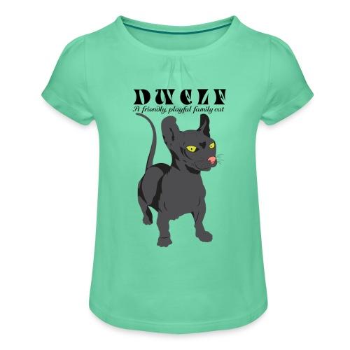 DWELF - Tyttöjen t-paita, jossa rypytyksiä