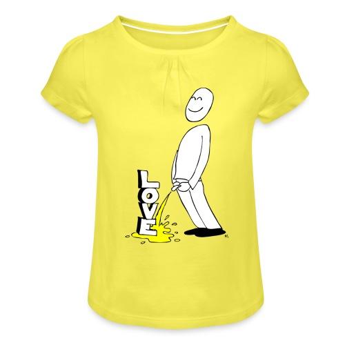 tissekopp original - Jente-T-skjorte med frynser