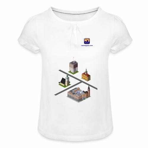 Raumagame mix for white/pale bg - Tyttöjen t-paita, jossa rypytyksiä