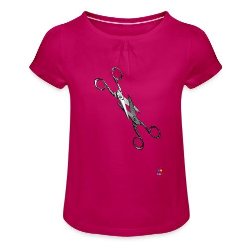 Scissor sisters - T-shirt à fronces au col Fille