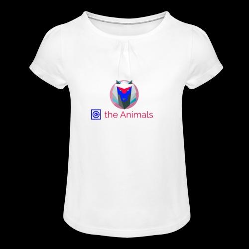 Safe the Animals Kollektion - Girl's T-Shirt with Ruffles