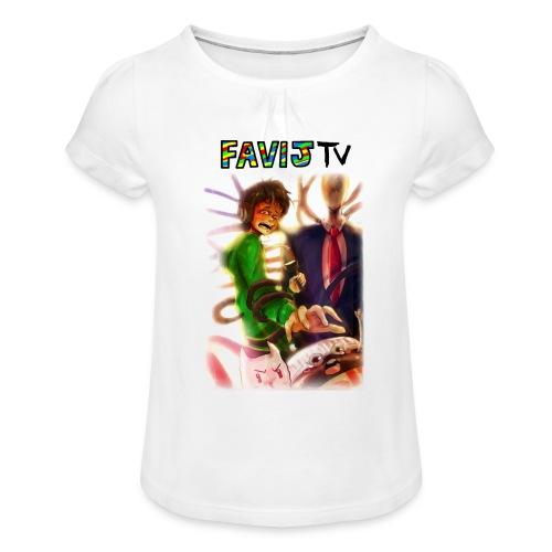 ShirtFinale png - Maglietta da ragazza con arricciatura