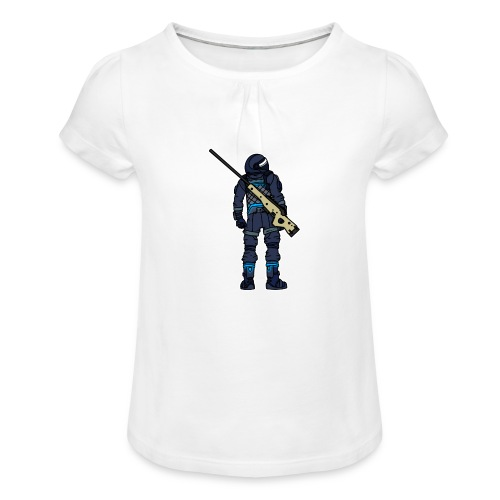 Noscoped - Girl's T-Shirt with Ruffles