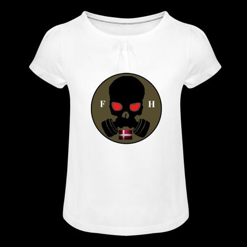 EDD - Pige T-shirt med flæser