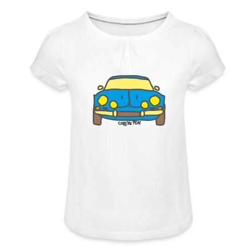 Voiture ancienne mythique française - T-shirt à fronces au col Fille