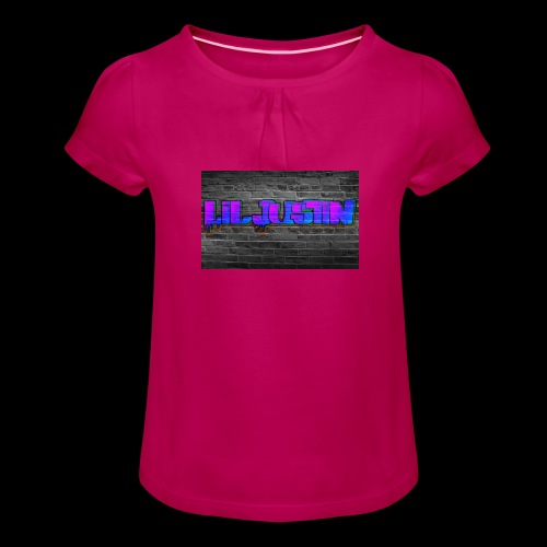 Lil Justin - Girl's T-Shirt with Ruffles