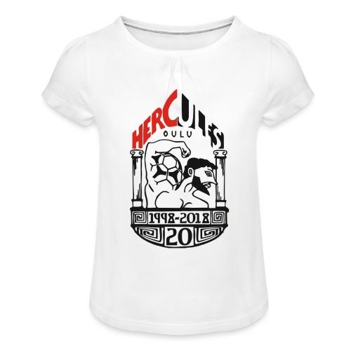 Hercules 20v. - Tyttöjen t-paita, jossa rypytyksiä