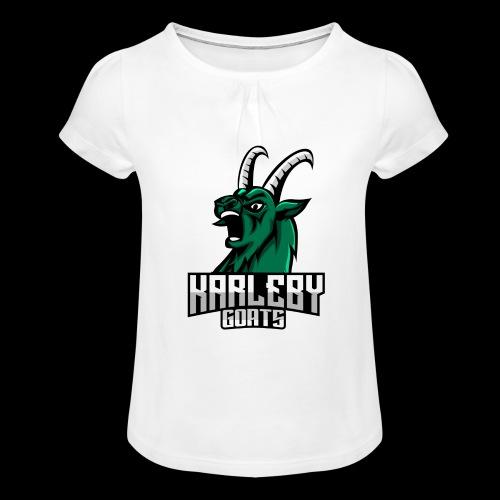 ORIGINAL GOAT - Tyttöjen t-paita, jossa rypytyksiä
