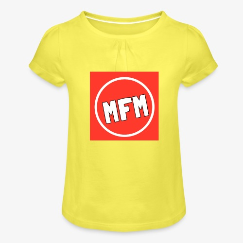 MrFootballManager Clothing - Girl's T-Shirt with Ruffles