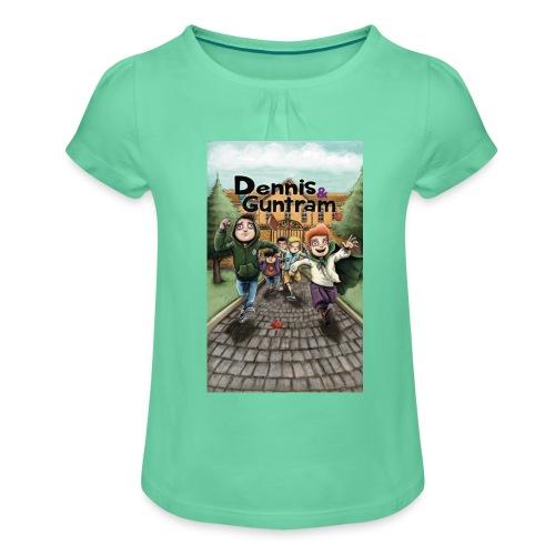 DuG-Band1-Kurztitel - Mädchen-T-Shirt mit Raffungen