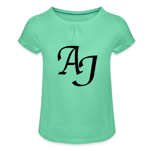 AJ Mouse Mat - Girl's T-Shirt with Ruffles