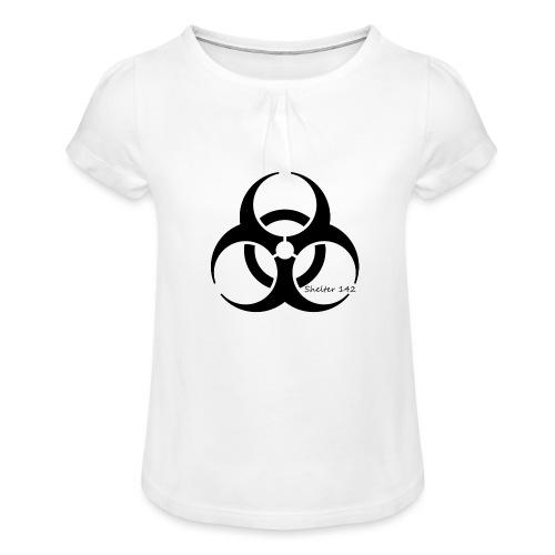 Biohazard - Shelter 142 - Mädchen-T-Shirt mit Raffungen