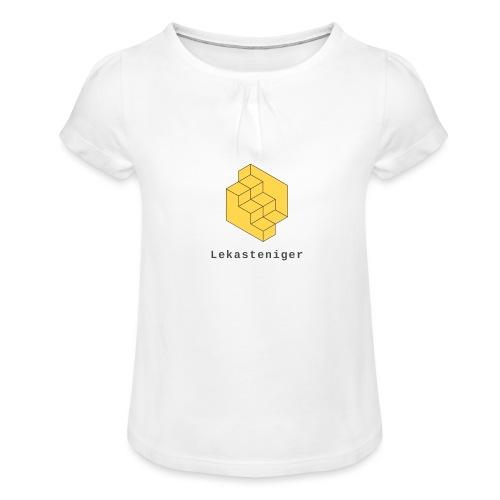 Lekasteniger - Mädchen-T-Shirt mit Raffungen