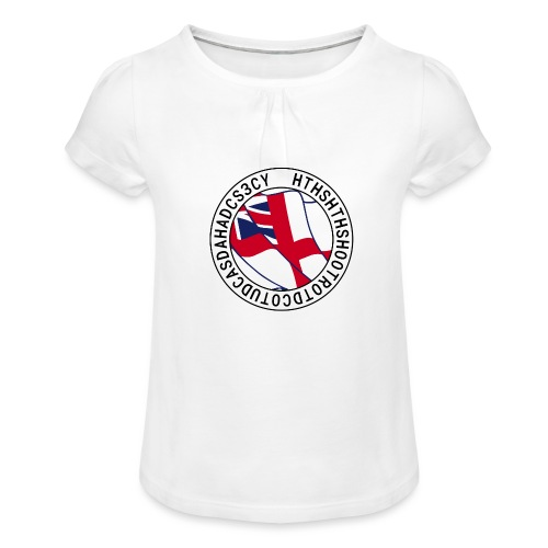 Hands to Harbour Stations (DC) - Girl's T-Shirt with Ruffles