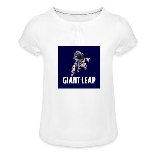 GiantLeap Astronaut - Girl's T-Shirt with Ruffles