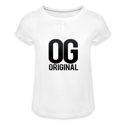 OG as original - Girl's T-Shirt with Ruffles