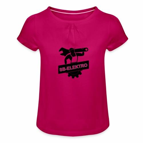SB transp 1000 png - Pige T-shirt med flæser