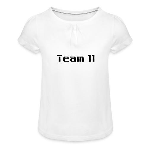 Team 11 - Girl's T-Shirt with Ruffles