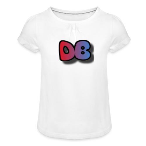 Double Games DB - Meisjes-T-shirt met plooien