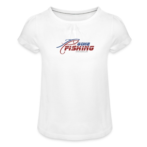 GONE-FISHING (2022) DEEPSEA/LAKE BOAT COLLECTION - Girl's T-Shirt with Ruffles