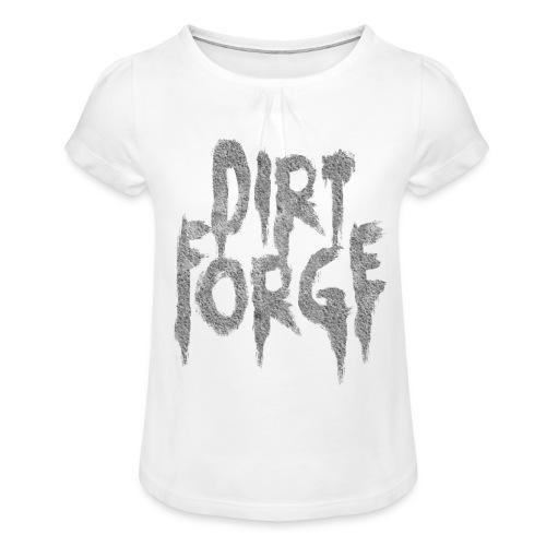 Dirt Forge Gravel t-shirt - Pige T-shirt med flæser