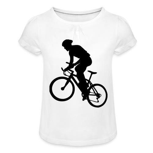 X-Country - T-shirt à fronces au col Fille