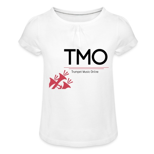 TMO Logo - Girl's T-Shirt with Ruffles