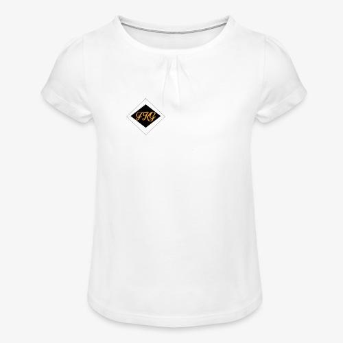 FakaG - Meisjes-T-shirt met plooien