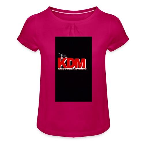 DREAM MUSIC - T-shirt à fronces au col Fille