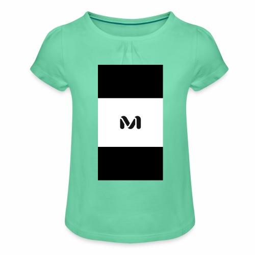 M top - Girl's T-Shirt with Ruffles