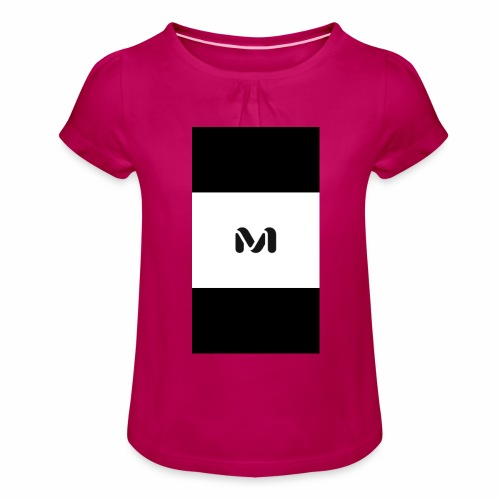 M top - Girl's T-Shirt with Ruffles