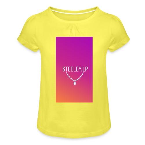 SteeleyLP👑 - Mädchen-T-Shirt mit Raffungen