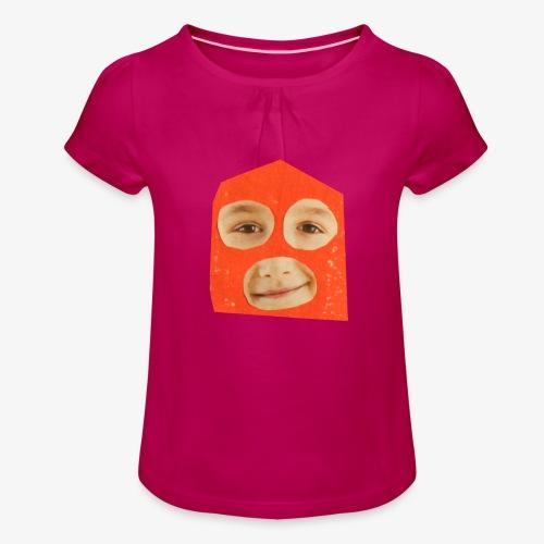 Abul Fissa - T-shirt à fronces au col Fille