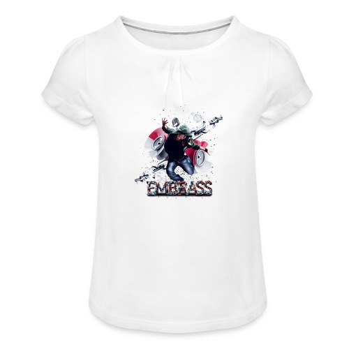 Pngtree music 1827563 - T-shirt à fronces au col Fille