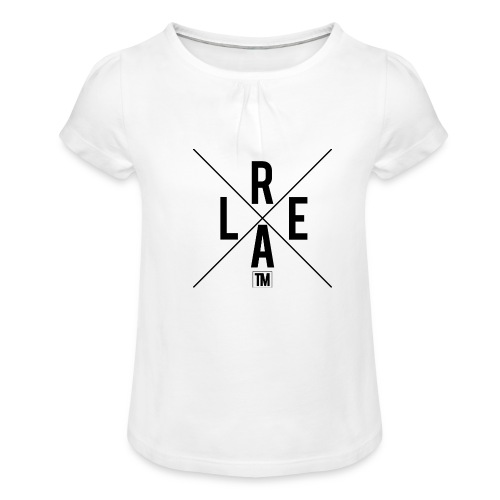 REAL - Girl's T-Shirt with Ruffles